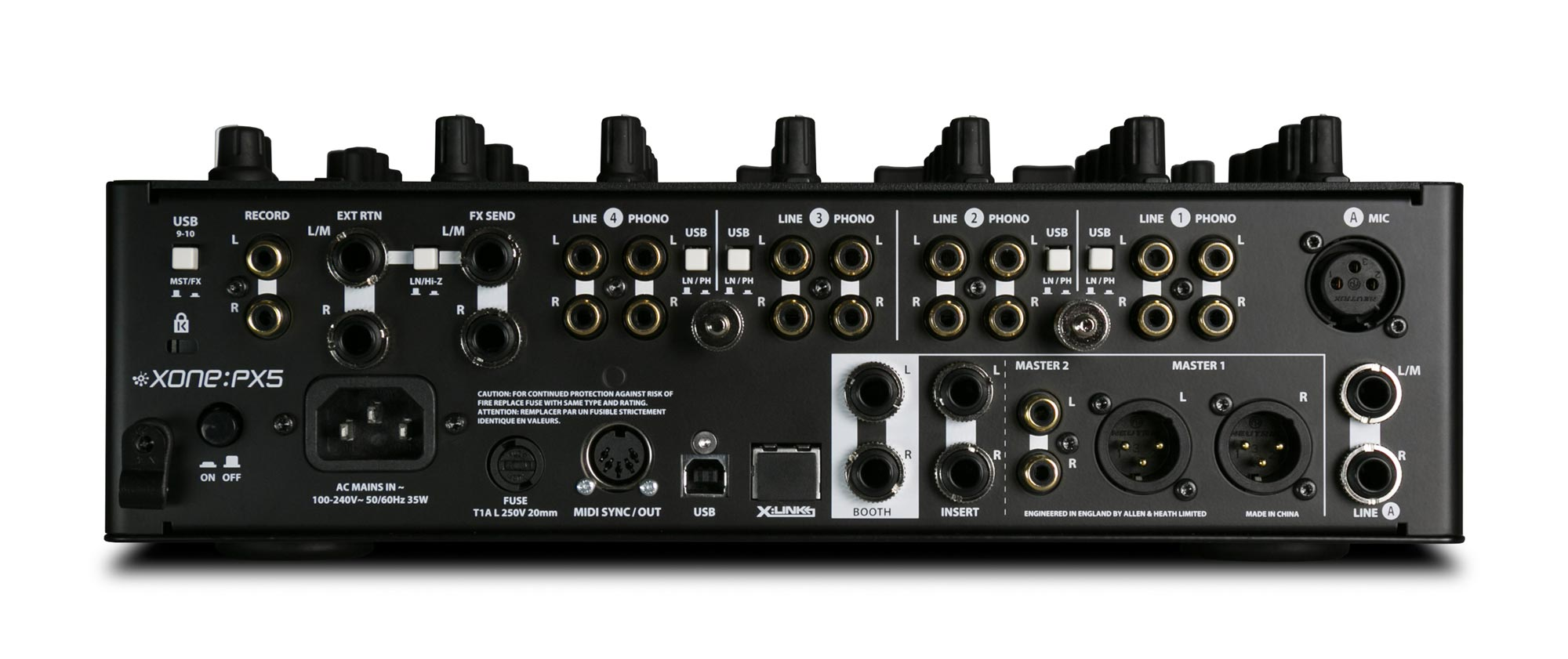 allen heath xone px5 4 1 channel analogue dj mixer with effects agiprodj. Black Bedroom Furniture Sets. Home Design Ideas
