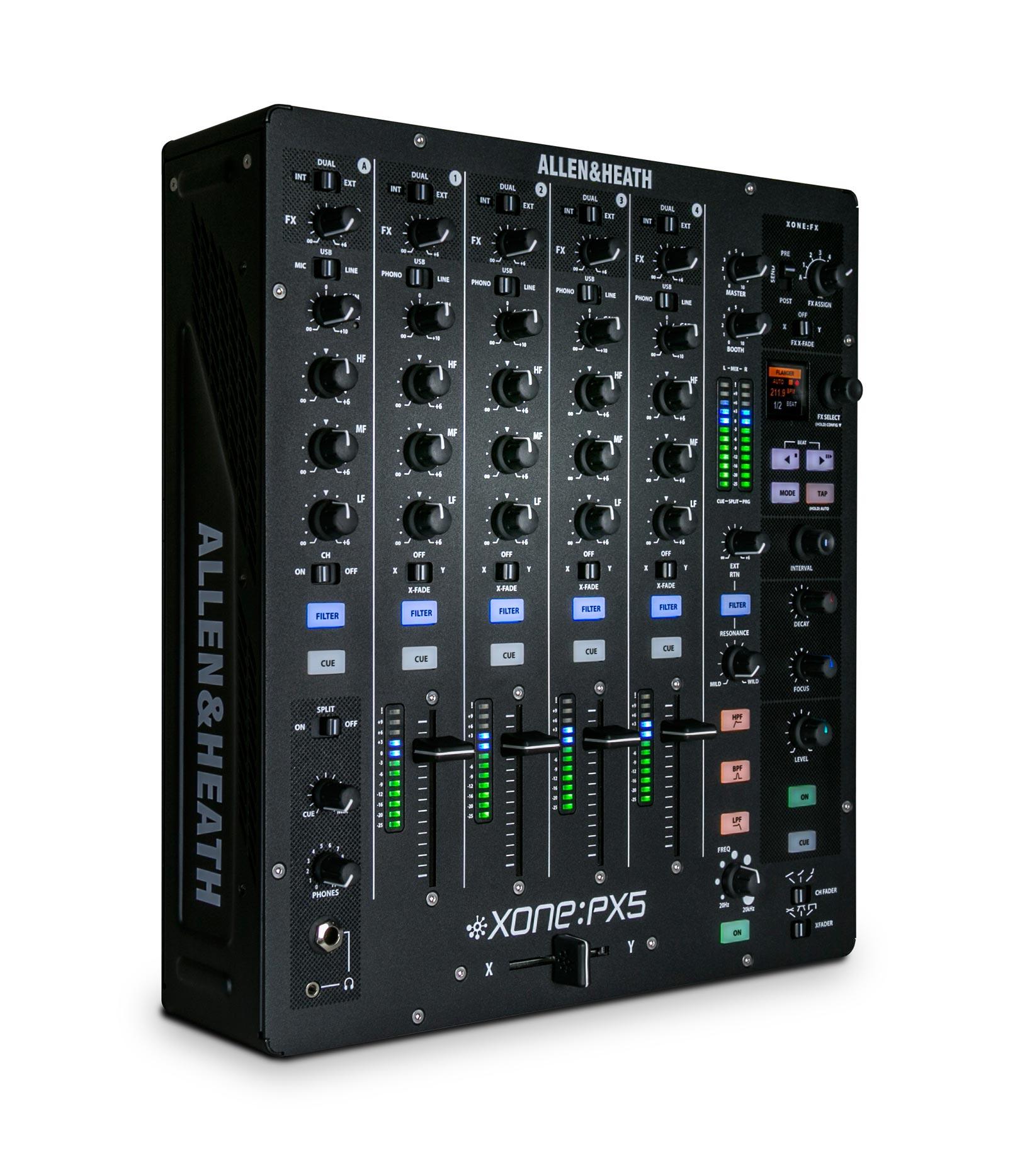 ALLEN & HEATH XONE:PX5 4+1 Channel Analogue DJ Mixer with ...