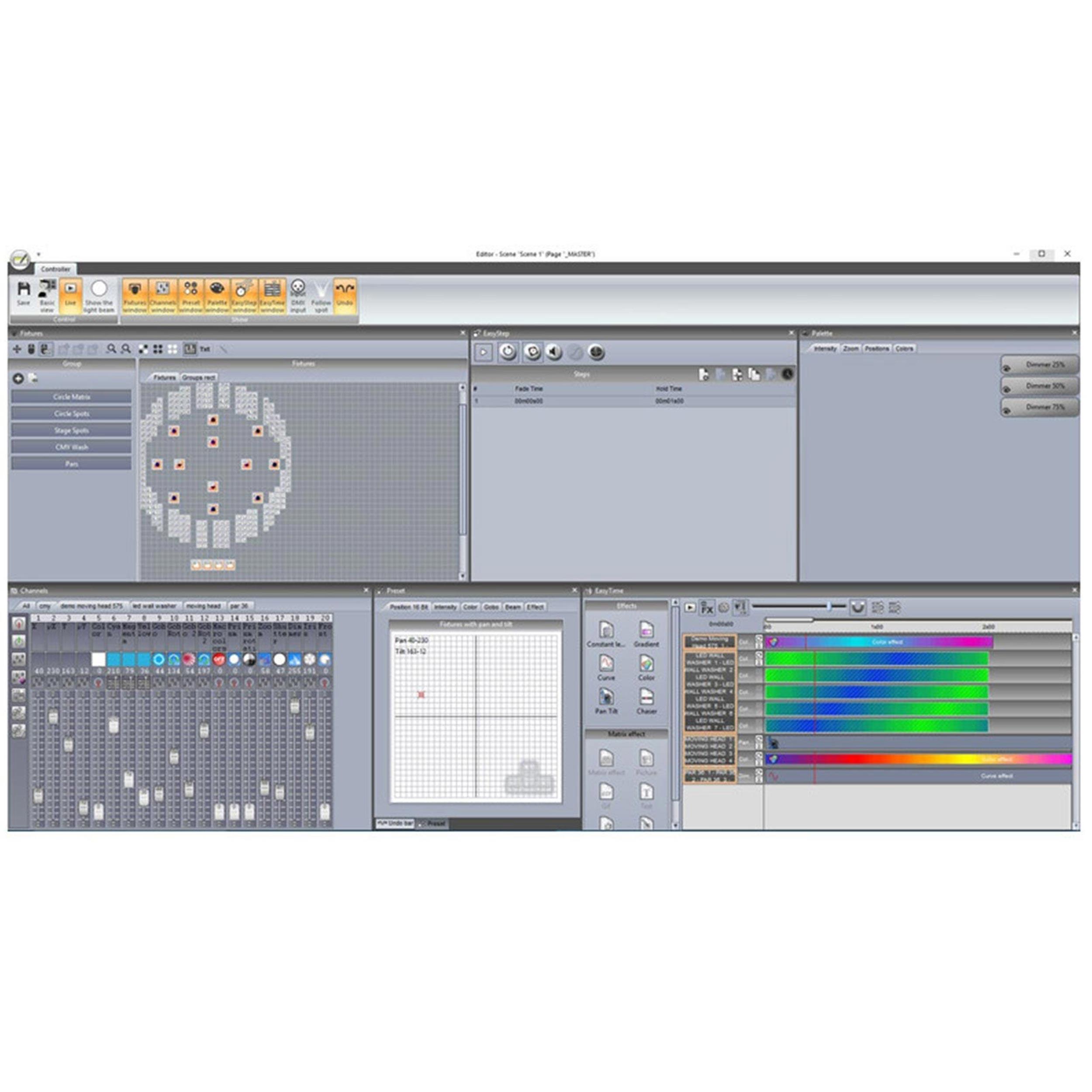 AMERICAN DJ ADJ COMPU SDE PC 3 Universe DMX Control 4 Artnet Universe  Interface
