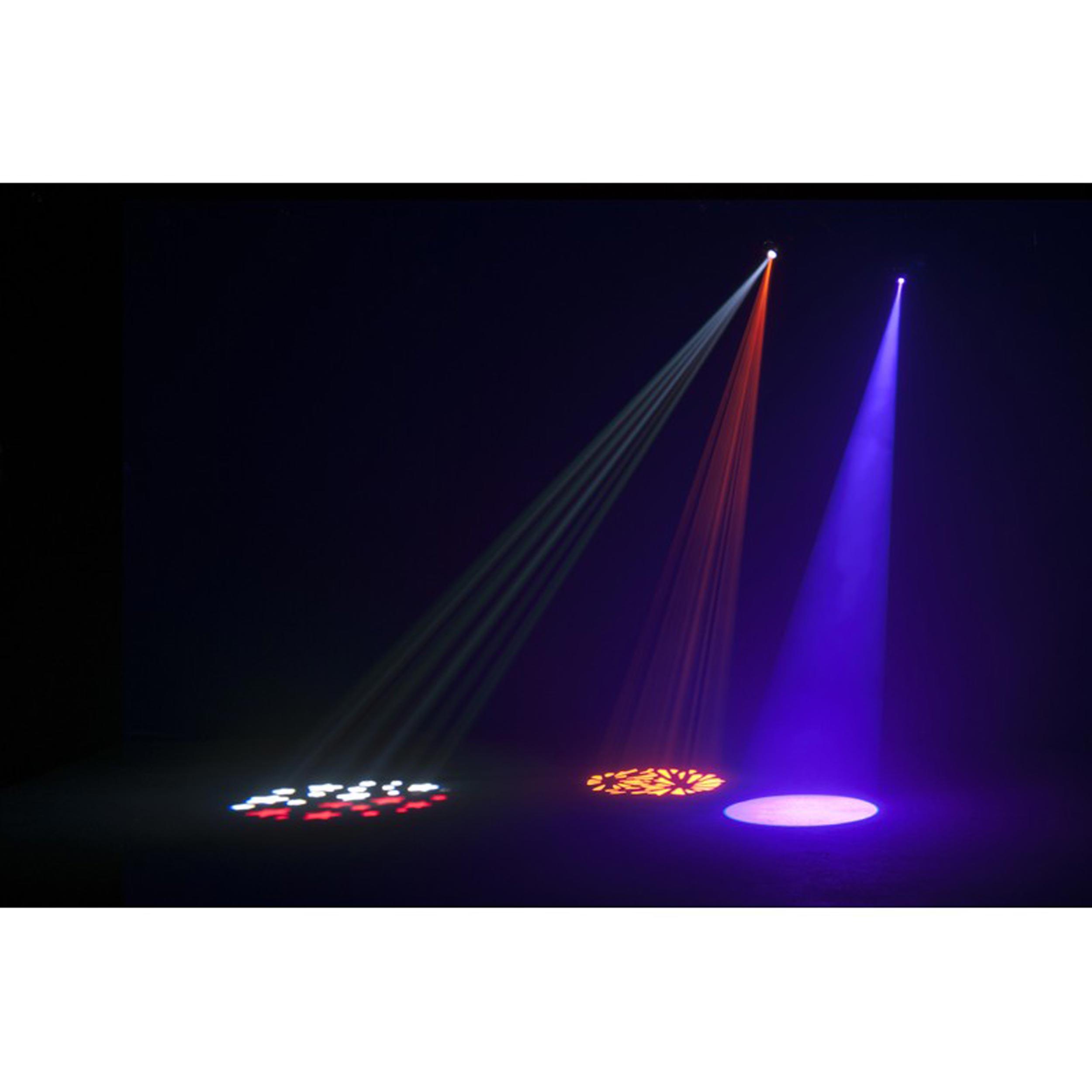 stinger moonflower uv ii flood laser led hex in fx effect green strobe reg american lighting dj light adj