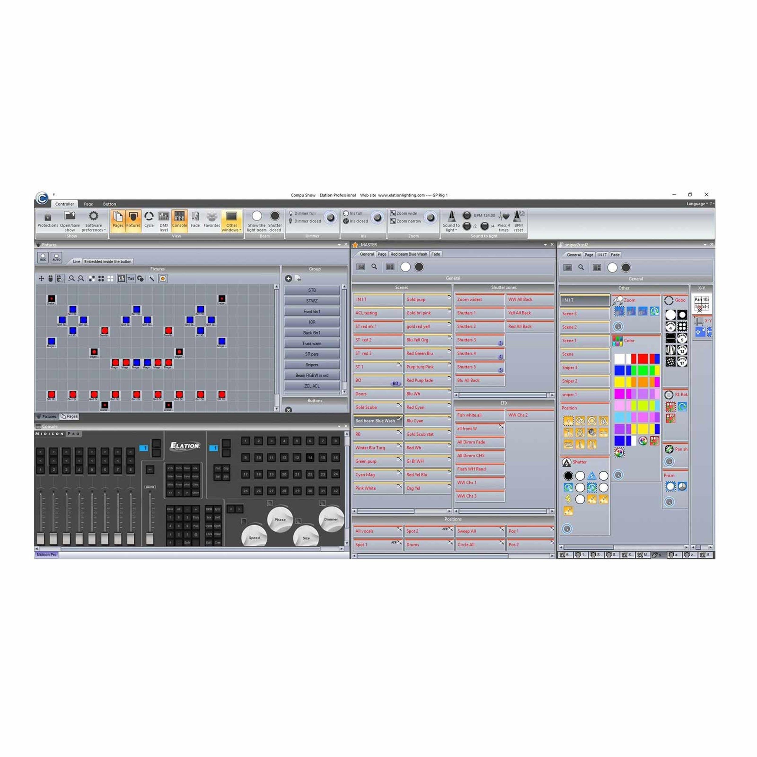 AMERICAN DJ ADJ COMPU CUE PC 2 Universe DMX Control Interface