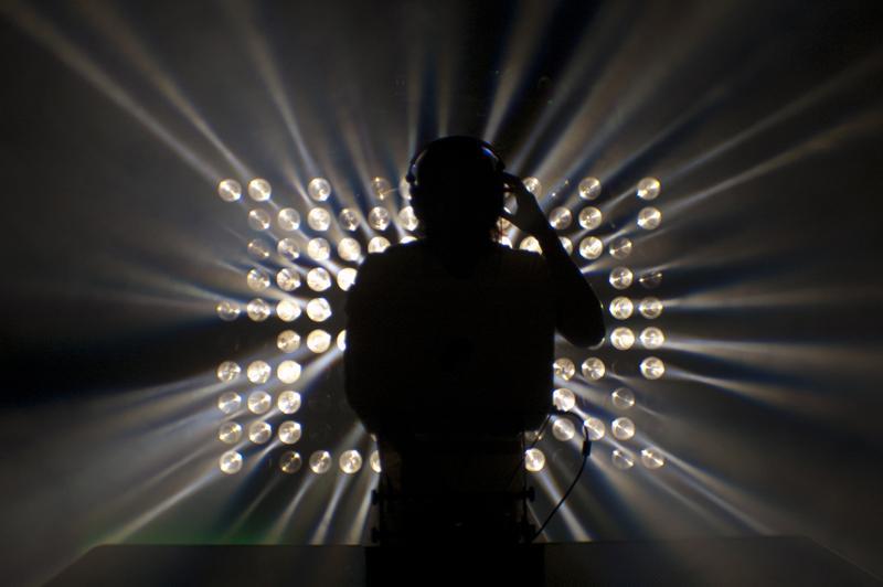 American Dj Matrix Beam Led Blinder Cyc 25x3w Warm White