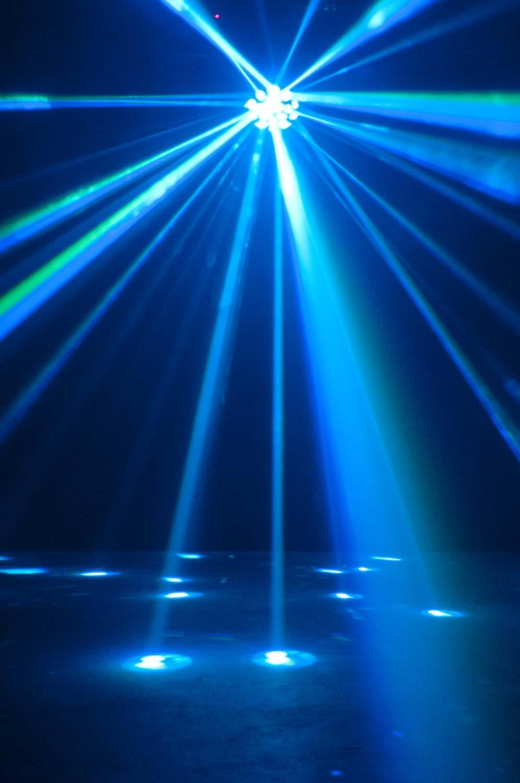 American Dj Vertigo Hex Led Rgbcaw Effect Light Agiprodj
