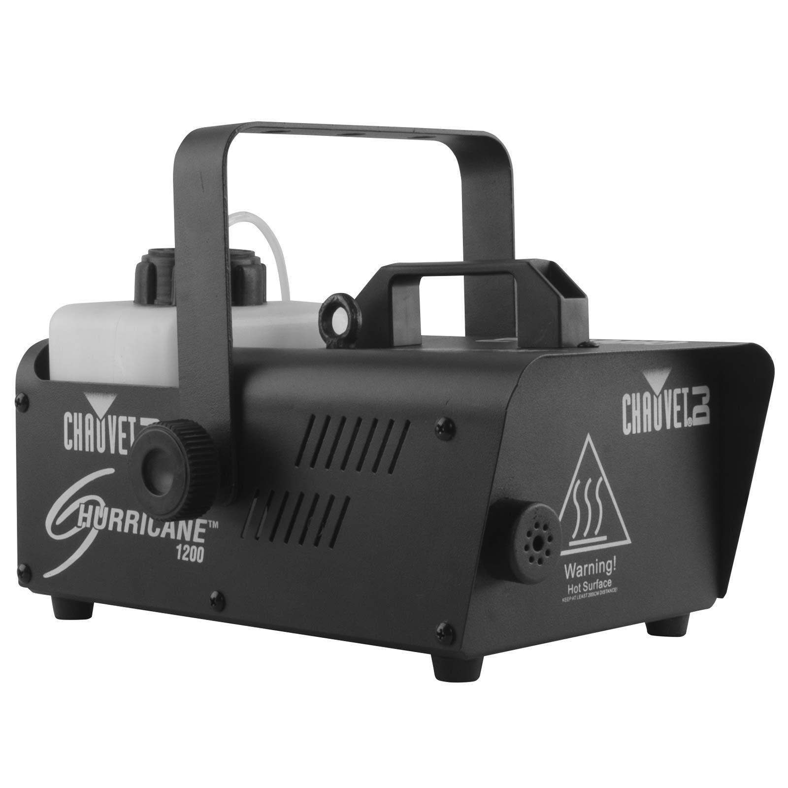 chauvet hurricane 1200 fog machine