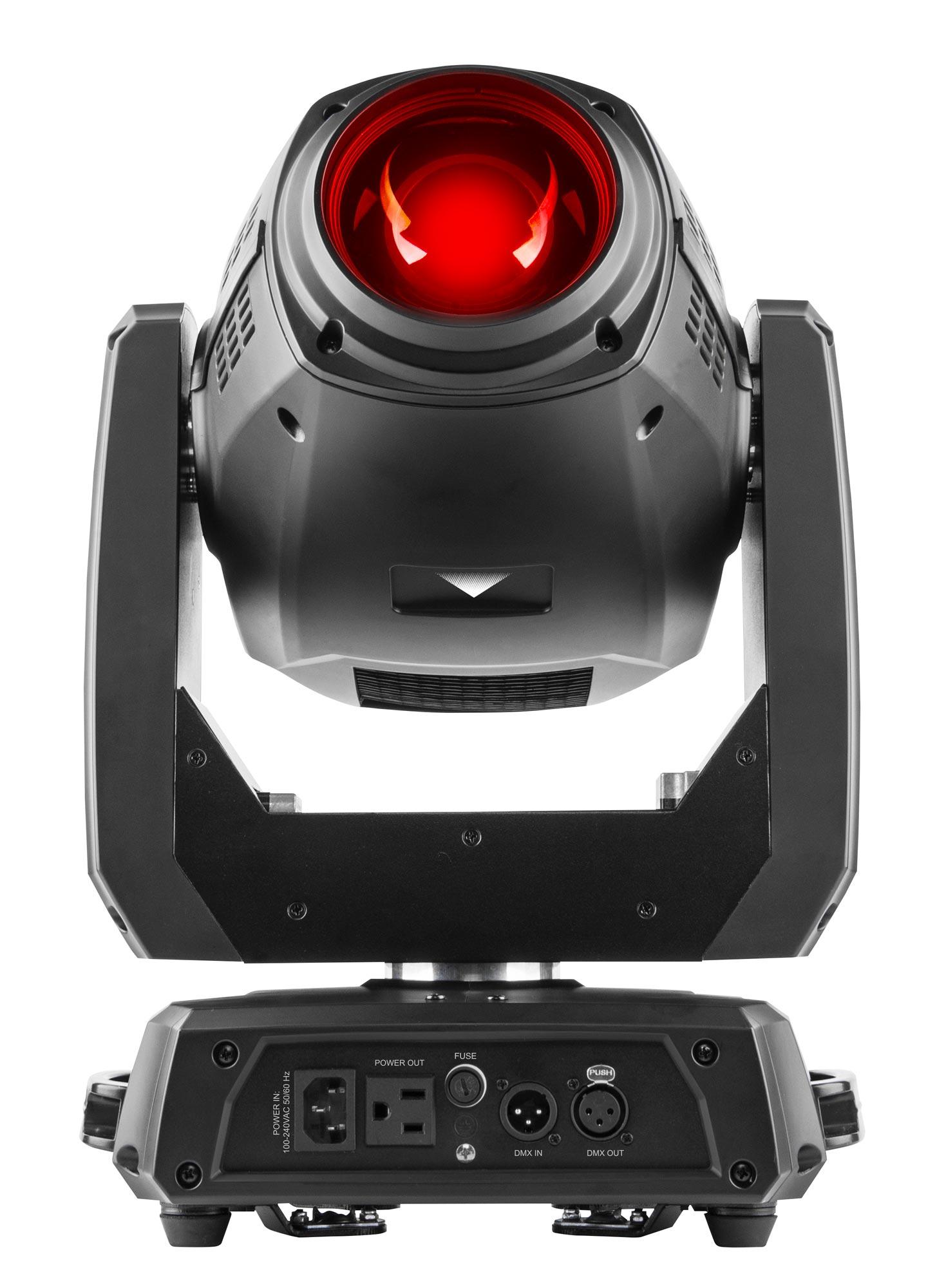Chauvet intimidator hybrid 140sr spot wash beam all in one moving head