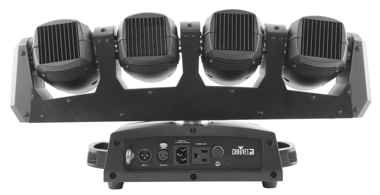 chauvet dj intimidator wave 360 irc rotating 4 head moving light array agiprodj. Black Bedroom Furniture Sets. Home Design Ideas
