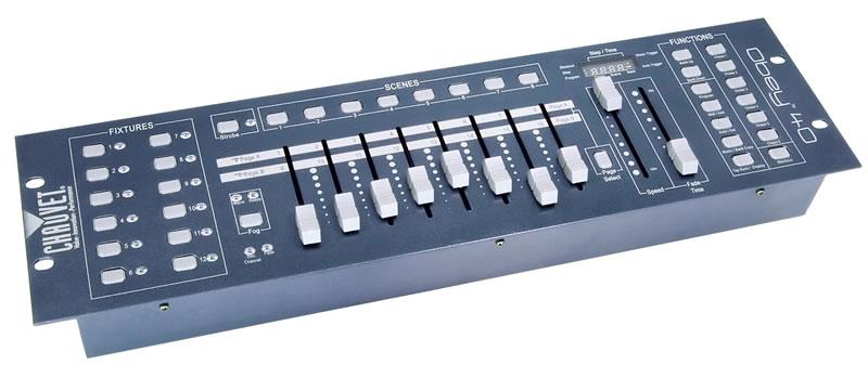 chauvet obey 40 192 channel universal dmx 512 controller agiprodj. Black Bedroom Furniture Sets. Home Design Ideas