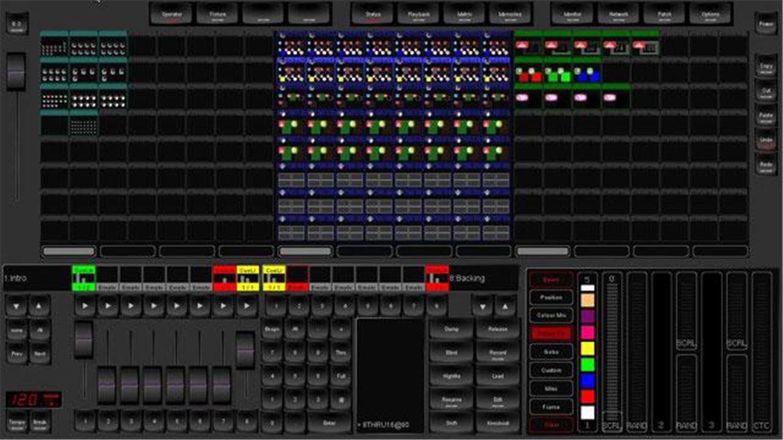 Elation Professional Emulation Pro Lighting Emu248 Dmx Software 1