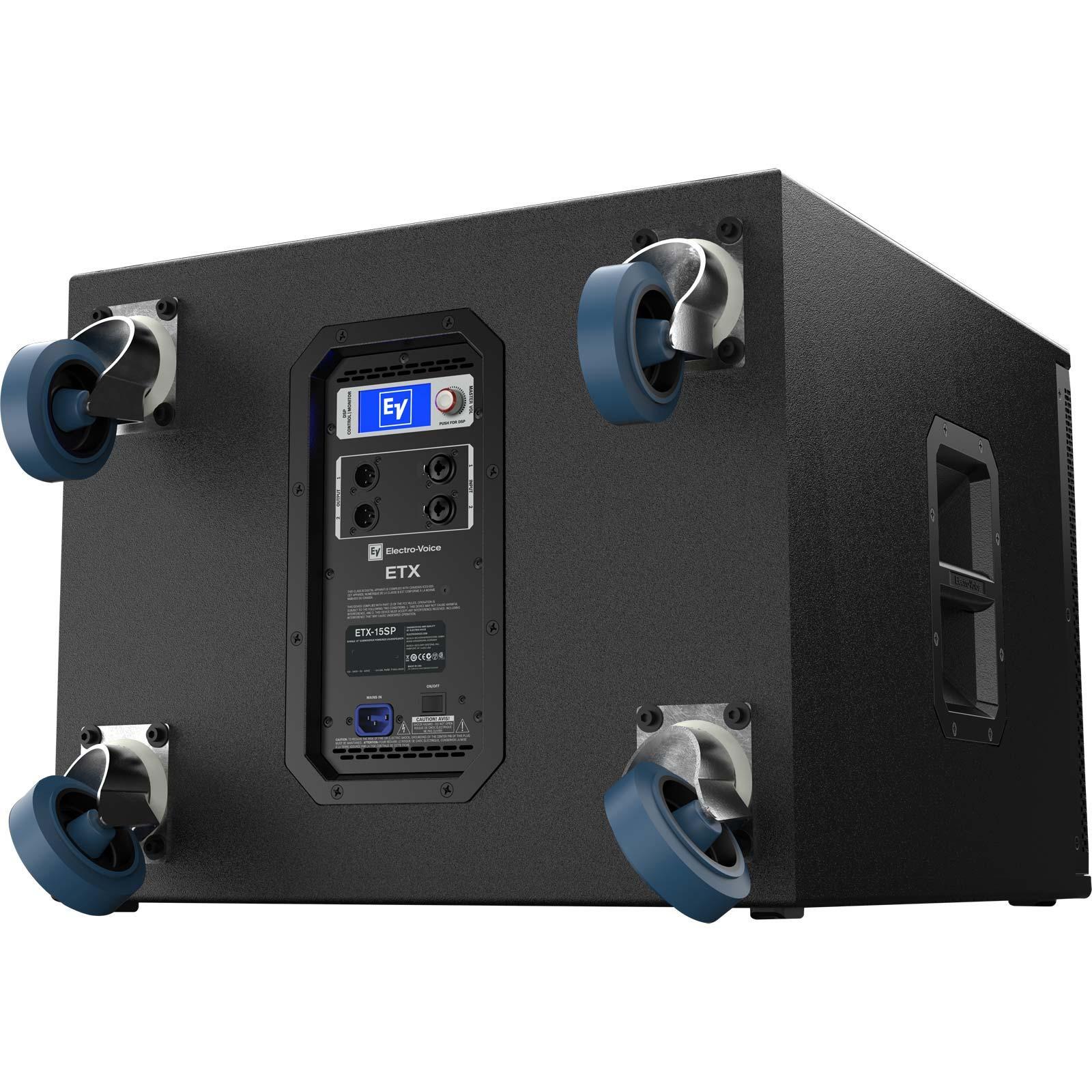 electro voice ev etx 15sp 15 powered subwoofer agiprodj. Black Bedroom Furniture Sets. Home Design Ideas
