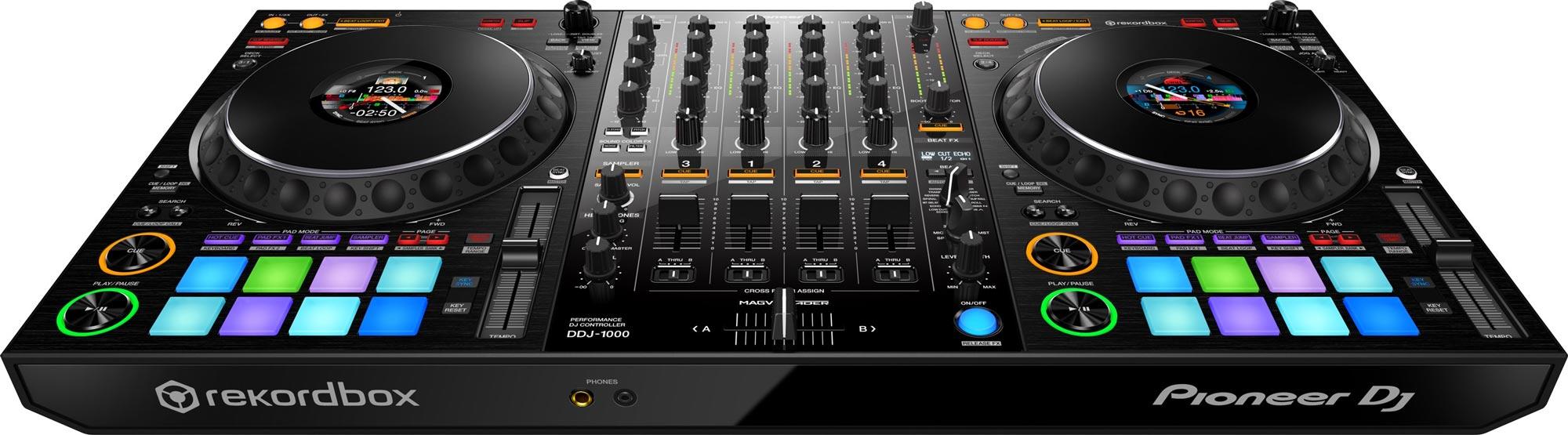 PIONEER DJ DDJ-1000 4-Channel rekordbox Controller