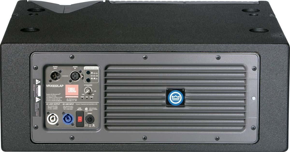 Jbl Vrx932lap 12 Quot Two Way Active Line Array Speaker