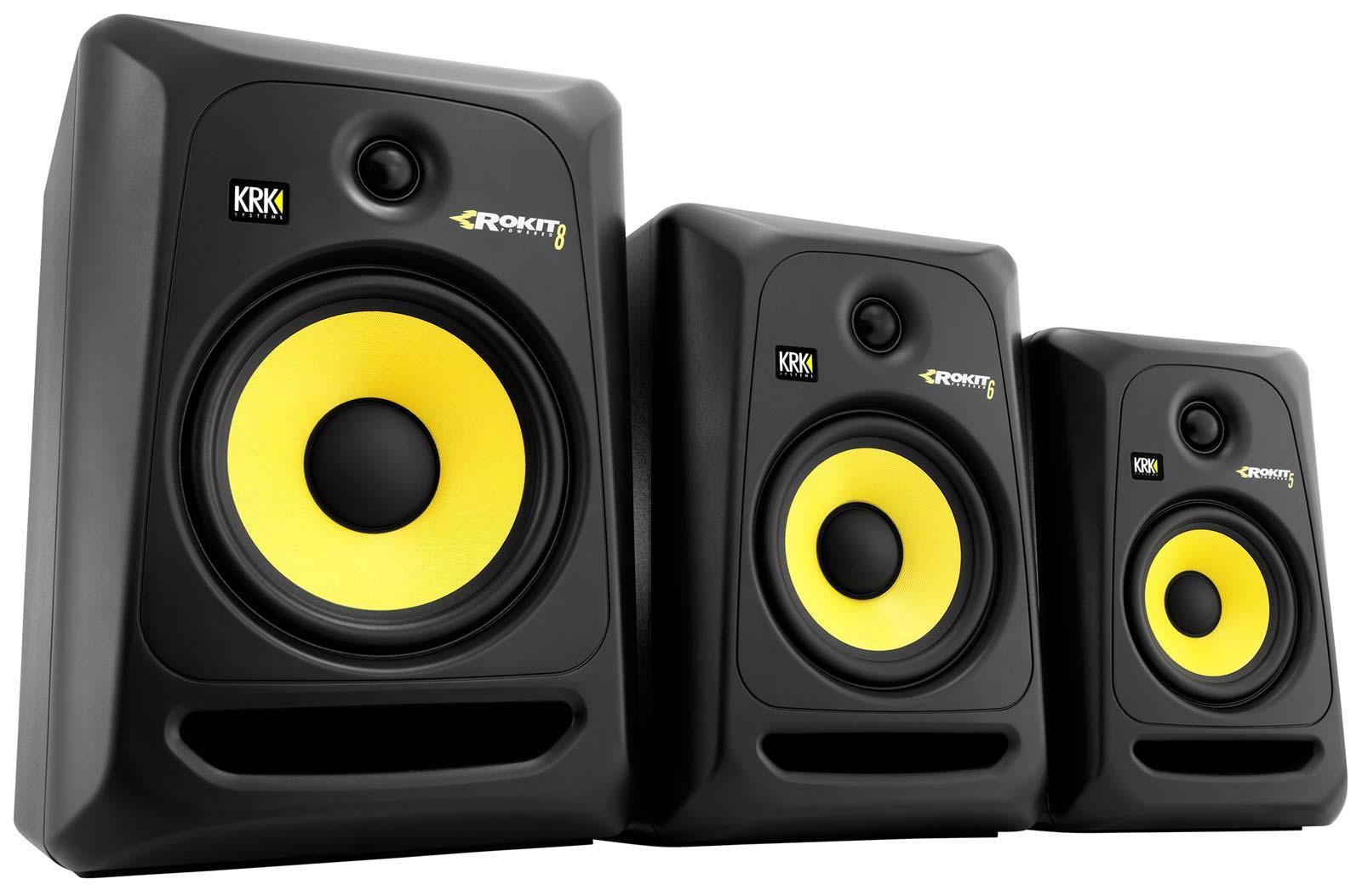 krk rp8g3 rokit 8 g3 8 powered studio monitor generation 3 agiprodj. Black Bedroom Furniture Sets. Home Design Ideas