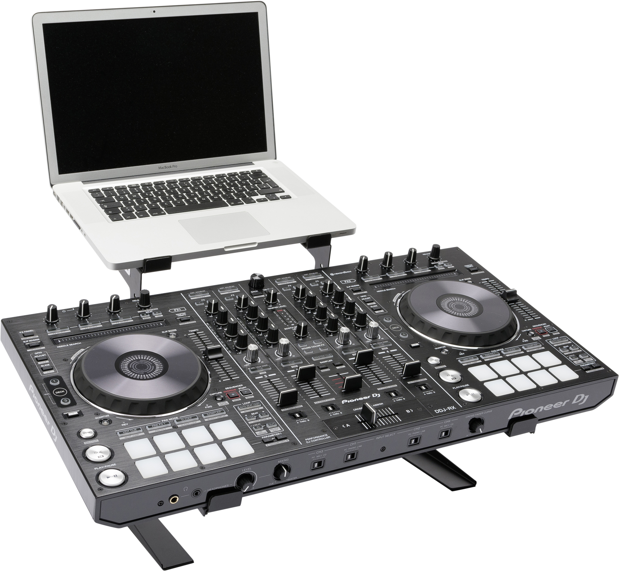Dj Controller Stand : magma control stand ii controller and laptop stand mount mga75541 agiprodj ~ Hamham.info Haus und Dekorationen