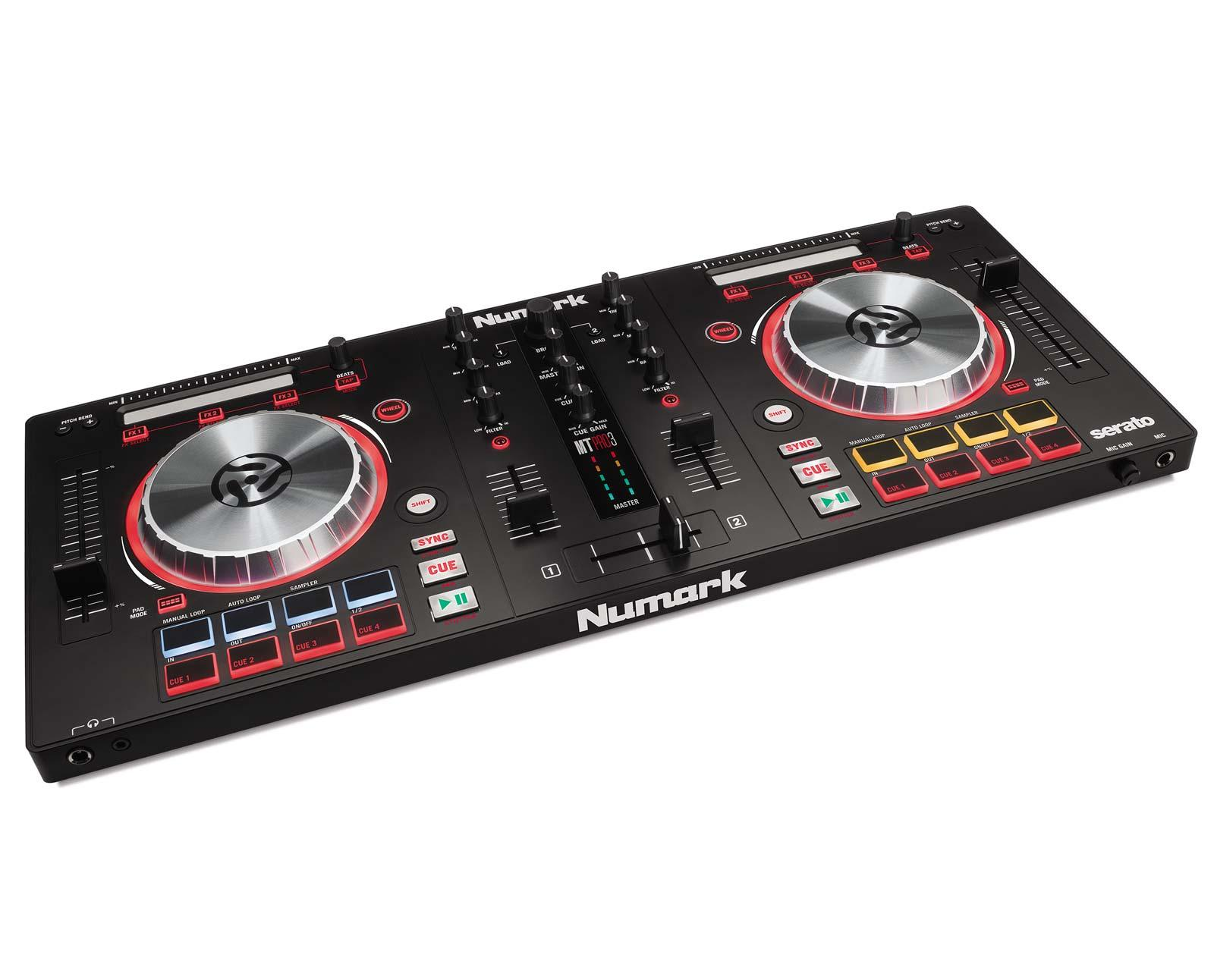 numark mixtrack pro 3 all in one controller for serato dj agiprodj. Black Bedroom Furniture Sets. Home Design Ideas