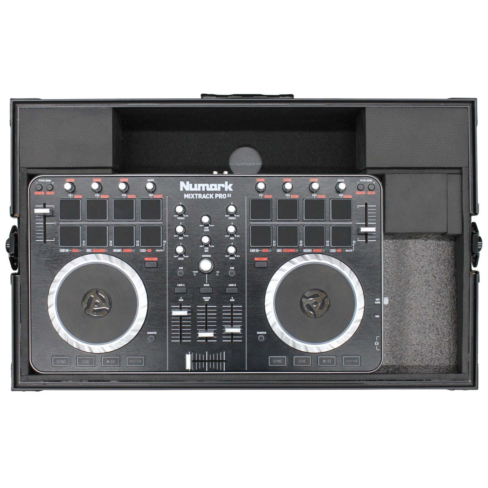ODYSSEY FRPIDDJSBBL Flight Ready Case for Pioneer DDJ-SB DDJ-SB2 & Numark  Mixtrack Pro II