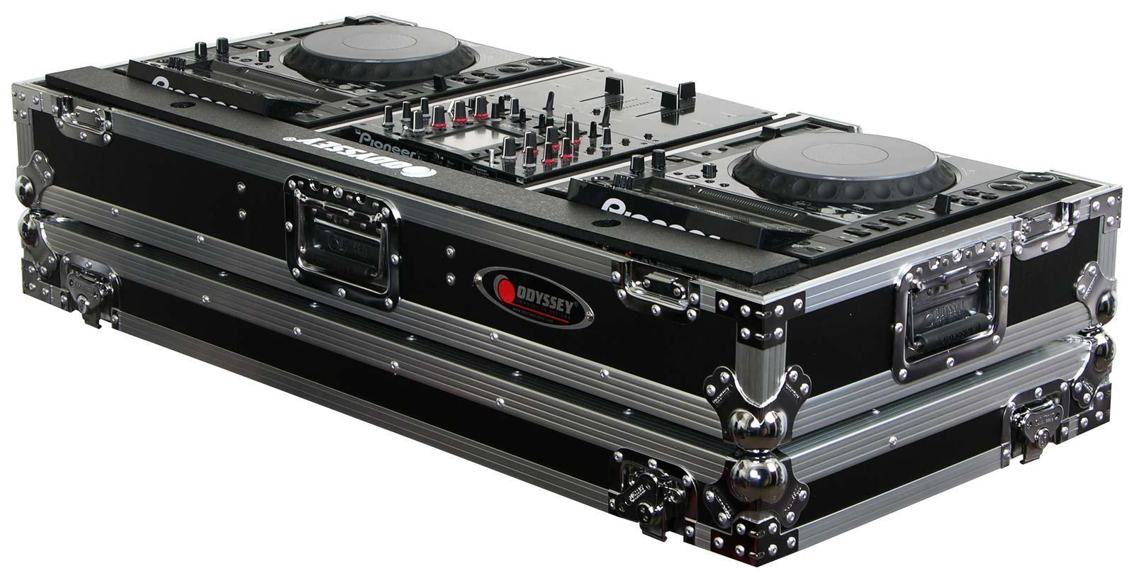 odyssey fz10cdjw flight zone dj coffin 2 cd players 10 mixer agiprodj. Black Bedroom Furniture Sets. Home Design Ideas