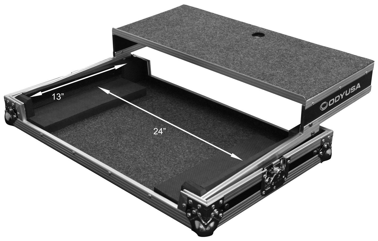 odyssey fzgsdjc1l larger medium dj controller flight. Black Bedroom Furniture Sets. Home Design Ideas