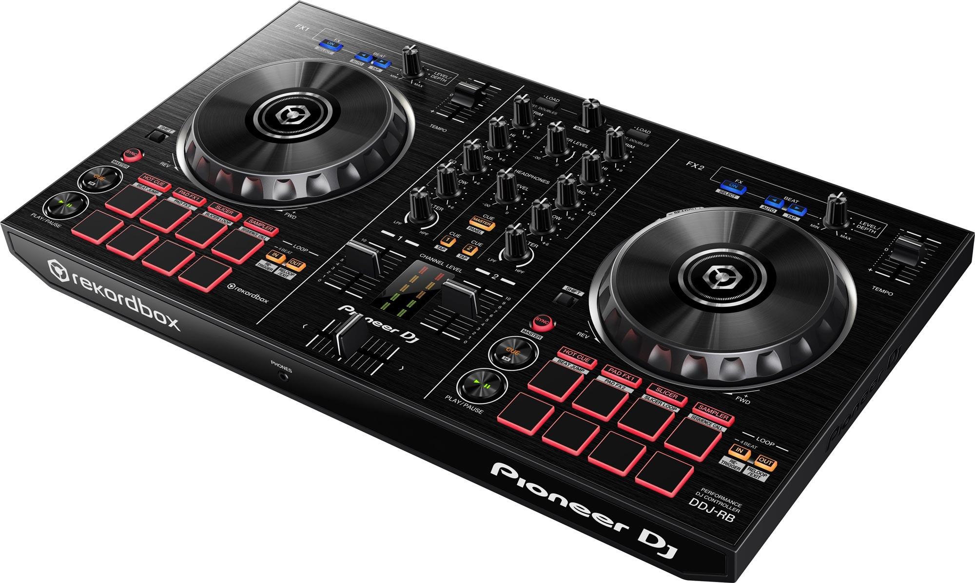 Pioneer dj ddj rb portable 2 channel dj controller for - Mesa dj pioneer ...