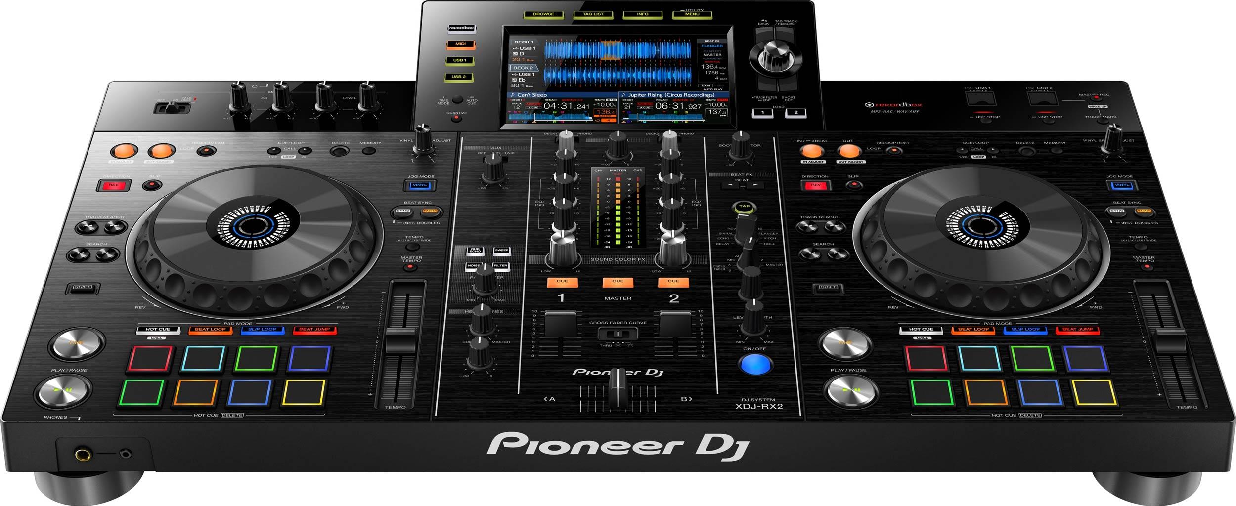 How To Set Table Pioneer Dj Xdj Rx2 Rekordbox Dj Controller Agiprodj