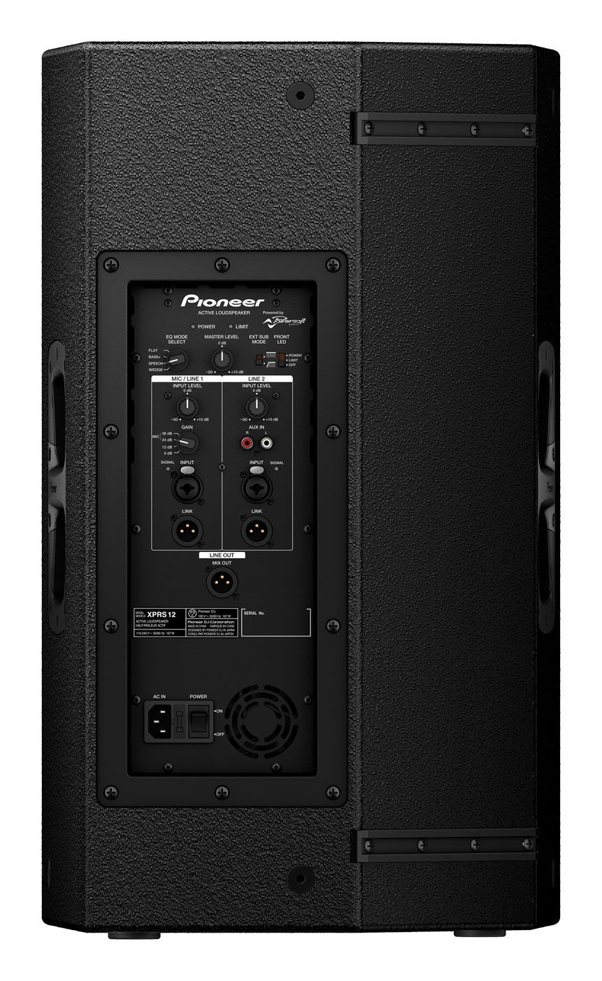 Pioneer Xprs12 1200 Watt 2 Way 12 Quot Powered Loudspeaker