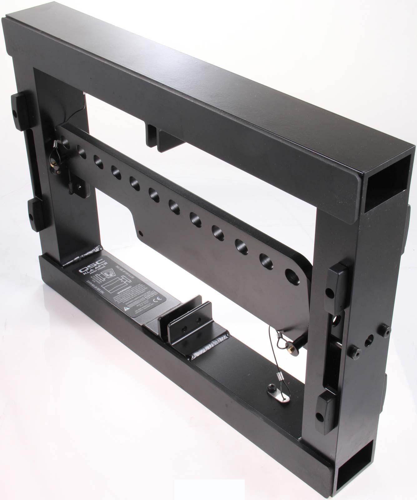qsc kla af12 array frame for kla series speakers black agiprodj. Black Bedroom Furniture Sets. Home Design Ideas