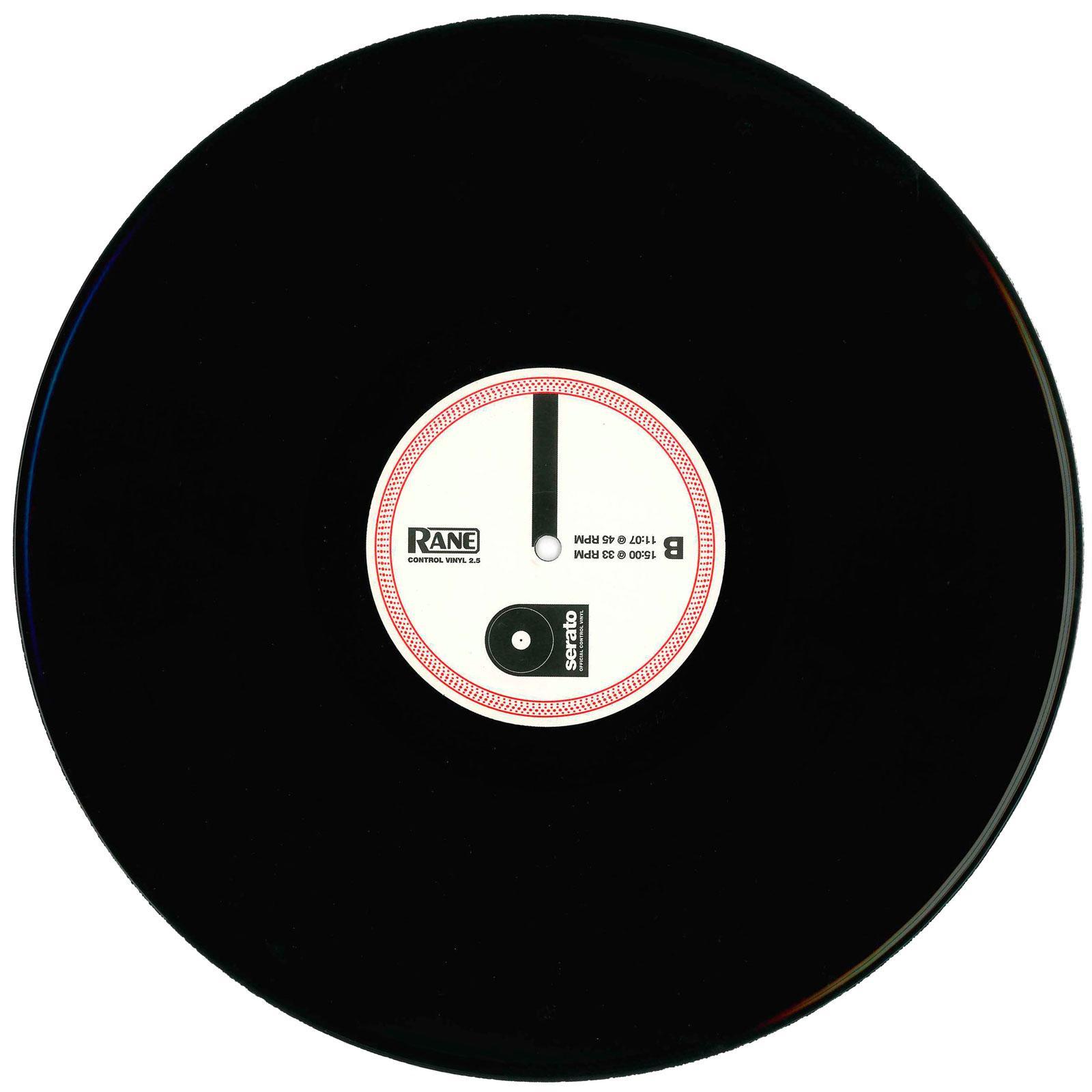 Rane Serato Scratch Live Control Vinyl Record V2 5 Black