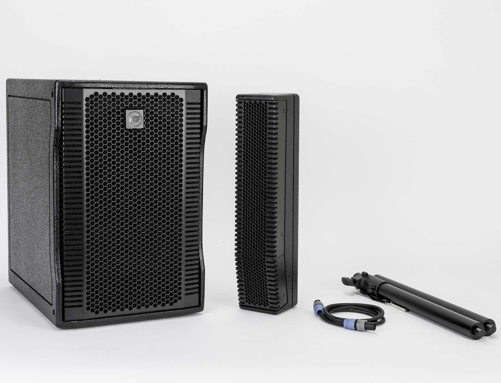 RCF Evox 8 V2 - Portable Compact Two-Way Active Array Sound System