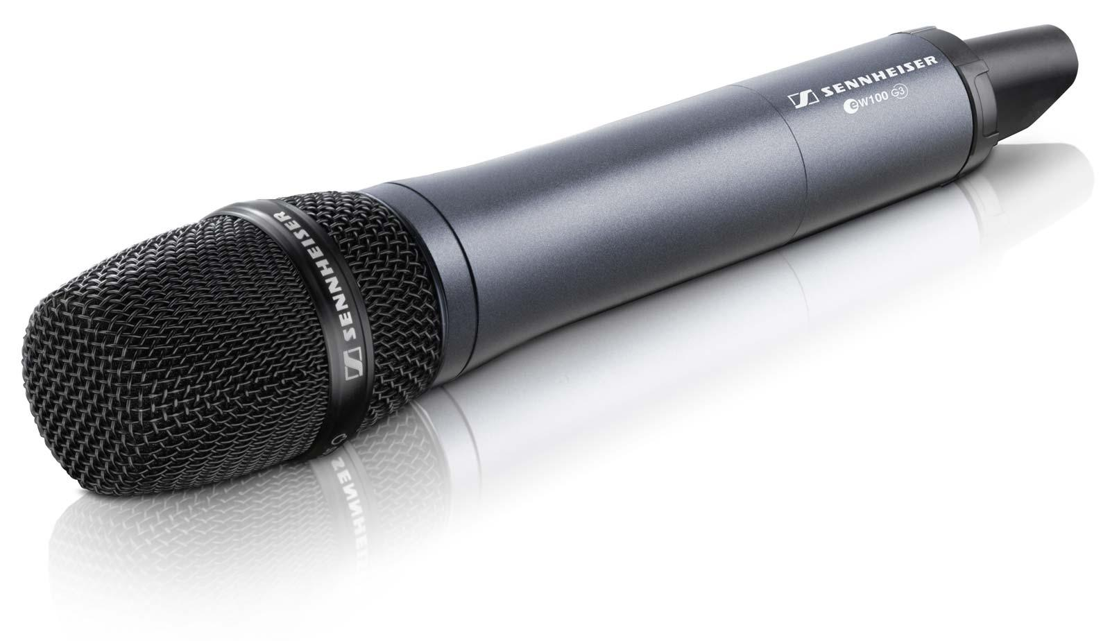 Sennheiser Ew 135 G3 B Handheld Wireless Microphone
