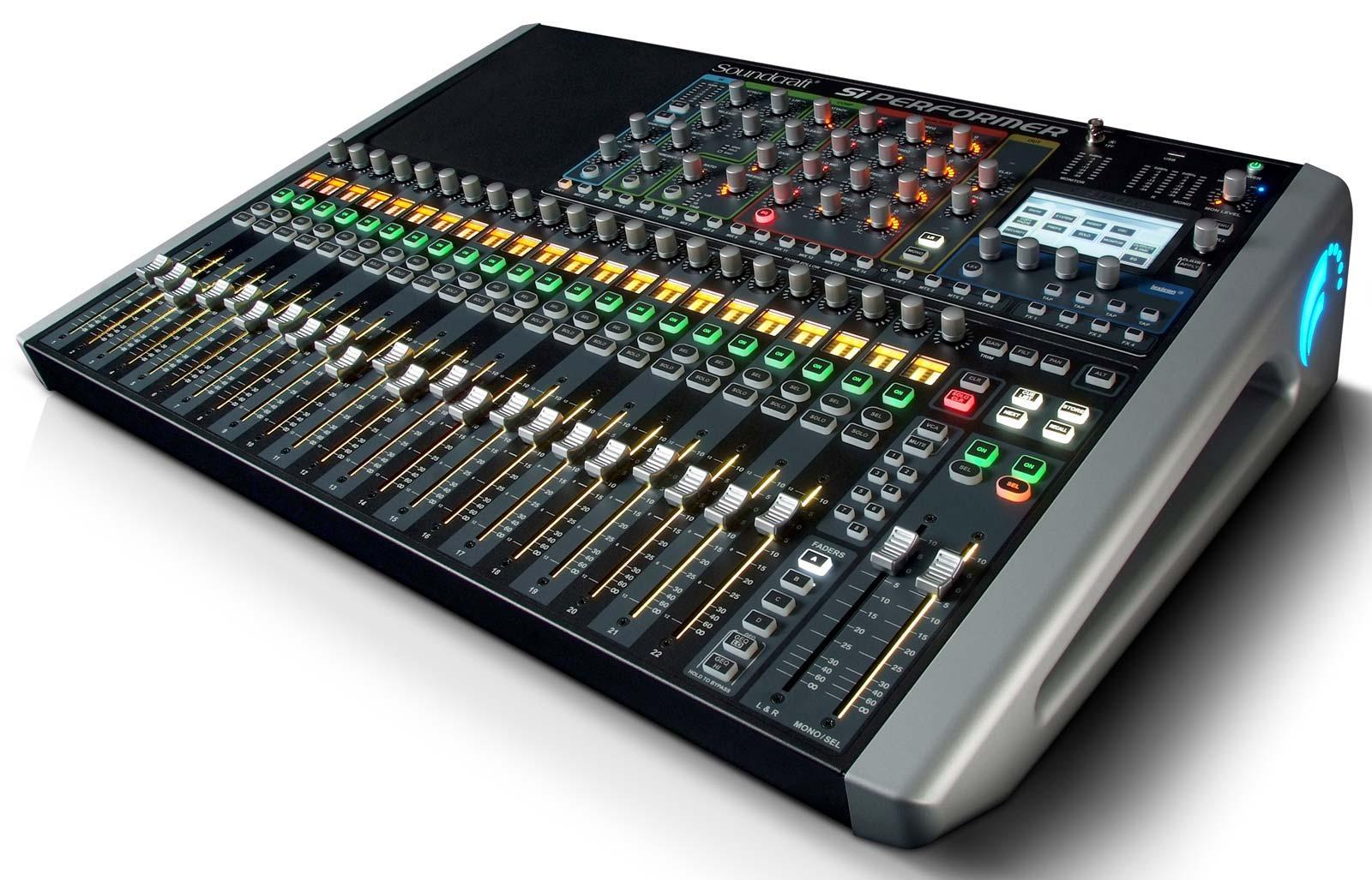 soundcraft si performer 2 24 channel digital live sound mixing console agiprodj. Black Bedroom Furniture Sets. Home Design Ideas