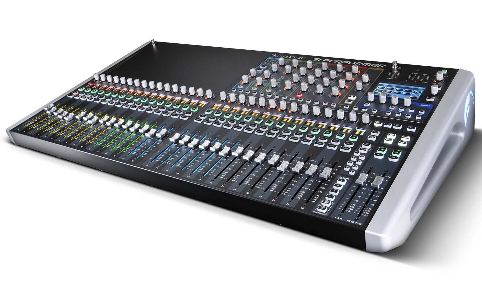 soundcraft si performer 3 32 channel digital live sound mixing console agiprodj. Black Bedroom Furniture Sets. Home Design Ideas