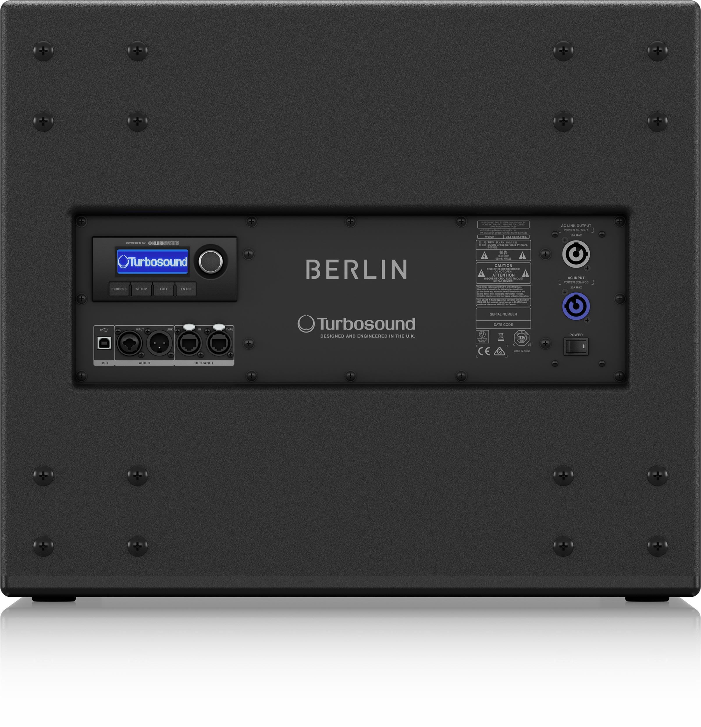 TURBOSOUND BERLIN TBV118L-AN 18