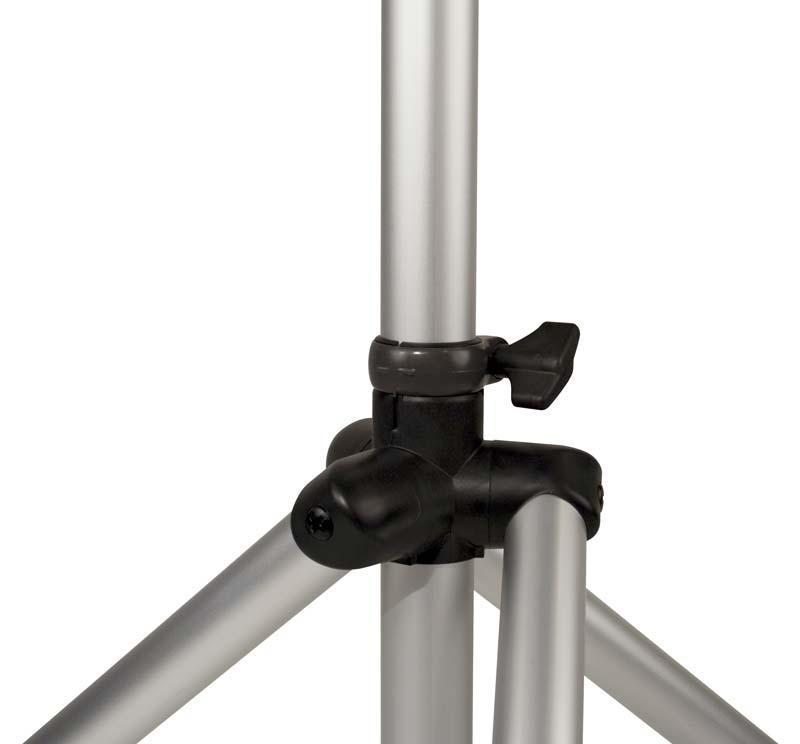 ultimate support ts 80s aluminum tripod speaker stand silver agiprodj. Black Bedroom Furniture Sets. Home Design Ideas