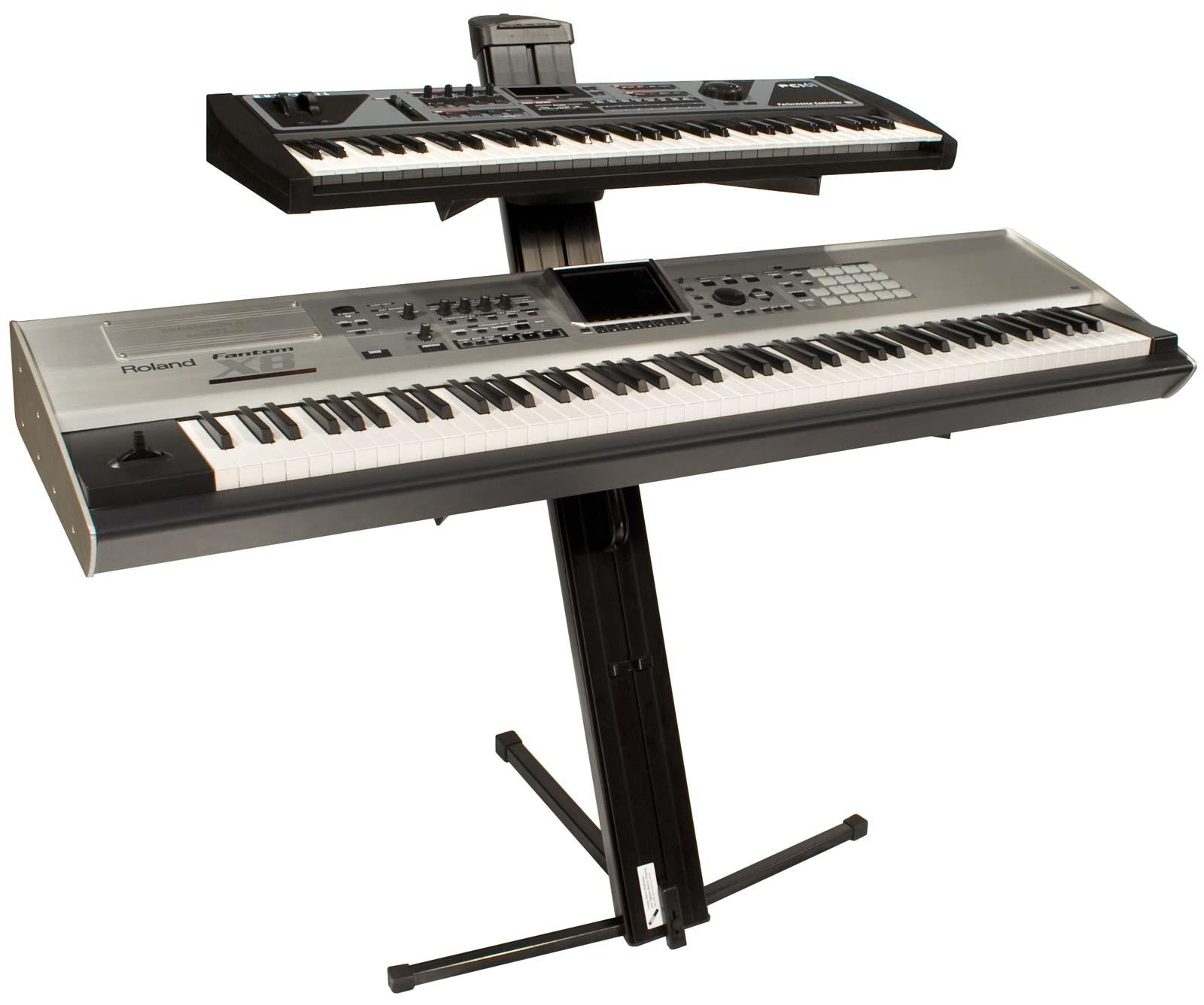 Ultimate Support Apex Ax 48 Pro Two Tier Keyboard Stand