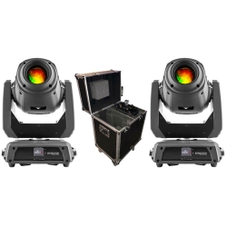2 CHAUVET INTIMIDATOR SPOT 375Z IRC Bundle with Free PROX Flight Case 2 375Z IRC FREE CASE BUNDLE