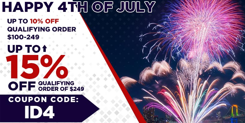 4th of July New Gear Sale - Save up to 15% on your dj equipment