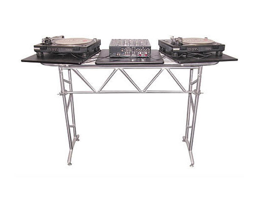 odyssey att2 folding heavy duty truss style dj table agiprodj. Black Bedroom Furniture Sets. Home Design Ideas