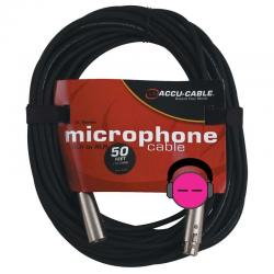 ACCU-CABLE XL-50 50 ft XLR Microphone Cable XL-50
