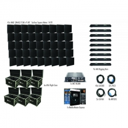 ADJ AVX9X5 AV6X 9 X 5 Panel Video Wall (45 Panels) Complete Turnkey System - Includes EVERYTHING! AVX9X5 VIDEO WALL
