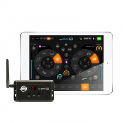 Check out details on MyDMX GO Control System AMERICAN DJ page