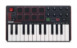 AKAI PRO MPK MINI MK2 Compact Keyboard and Pad Controller MPK MINI MK2