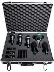 AKG Rhythm Pack Professional Drum Microphone Set with Road Case Rhythm Pack