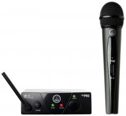 AKG WMS 40 Mini Vocal Set Handheld Wireless Microphone System US45A WMS40 MINI VOCAL-45A