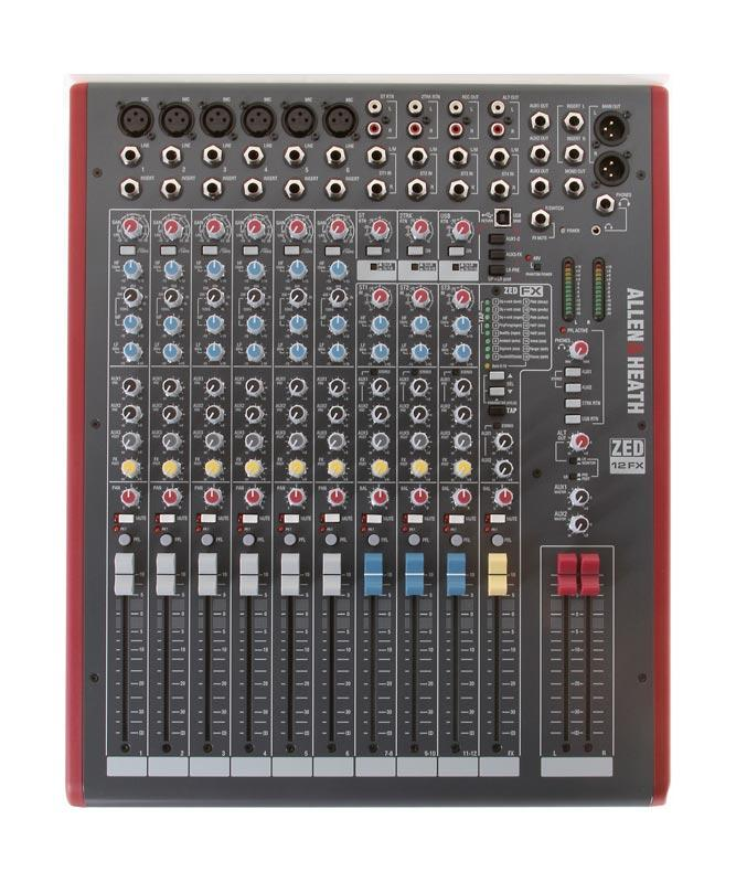 Allen Heath Zed 12fx : allen heath zed 12fx 12 channel mixer with usb and effects agiprodj ~ Hamham.info Haus und Dekorationen