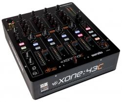 ALLEN & HEATH XONE:43C Serato DJ-Ready Four-Channel Analog DJ Mixer with Soundcard