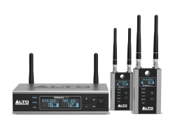 ALTO PROFESSIONAL STEALTHPRO Two-Channel Wireless Audio System For Active Loudspeakers STEALTHPRO
