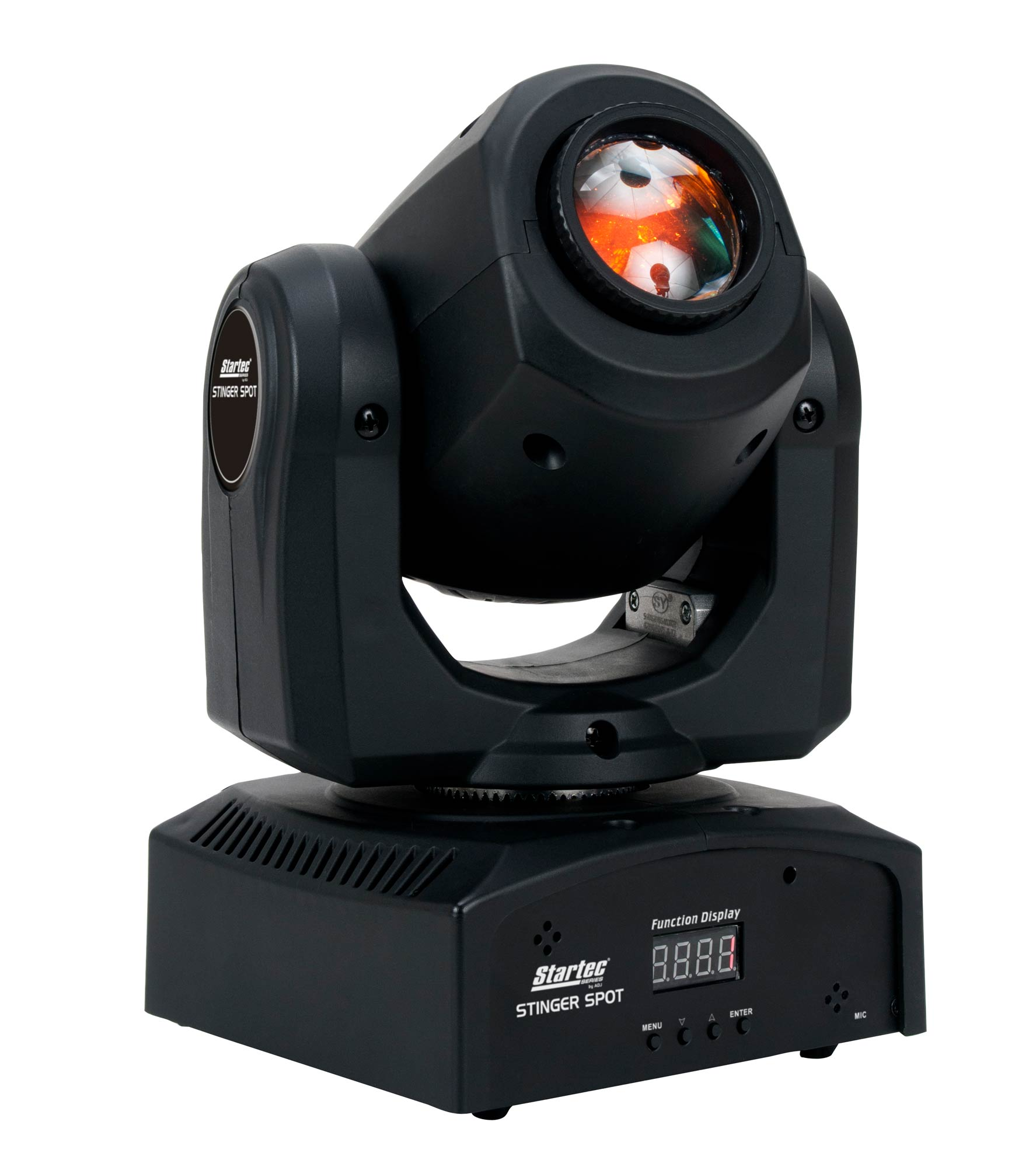 american dj adj stinger spot 10 watt led mini moving head light agiprodj. Black Bedroom Furniture Sets. Home Design Ideas