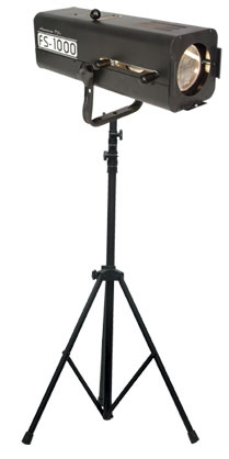 ADJ AMERICAN DJ FS-1000/SYS Followspot System with Tripod Stand and Hanging Bracket