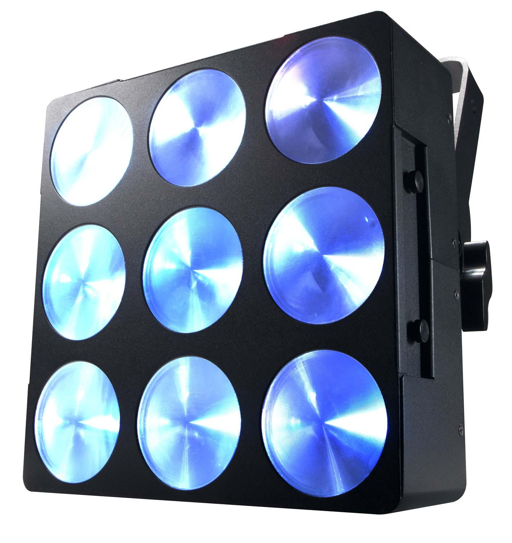 american dj dotz brick 3 3 tri cob wash blinder led light effect