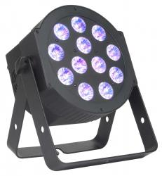 AMERICAN DJ 12P Hex 6-in-1 LED Par with 12x12W Hex RGBWA + UV LEDs 12P HEX