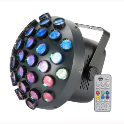 AMERICAN DJ ADJ Contour Modern LED Mirror Ball Effect with Multi-colored Beams Contour